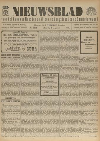 Nieuwsblad het land van Heusden en Altena de Langstraat en de Bommelerwaard 1919-08-09