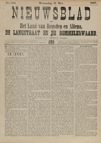 Nieuwsblad het land van Heusden en Altena de Langstraat en de Bommelerwaard 1887-05-11