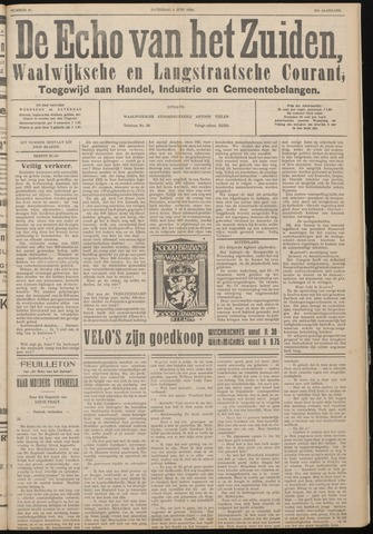 Echo van het Zuiden 1934-06-09