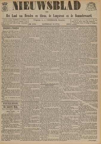 Nieuwsblad het land van Heusden en Altena de Langstraat en de Bommelerwaard 1900-07-14