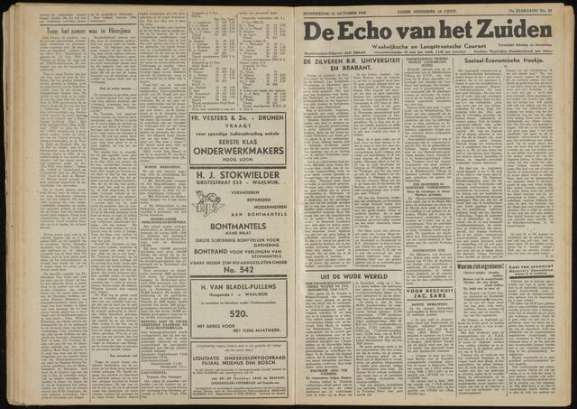 Echo van het Zuiden 1948-10-21