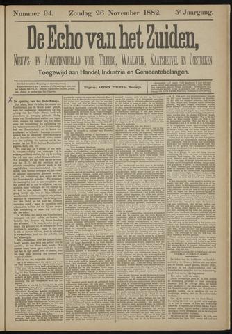 Echo van het Zuiden 1882-11-26