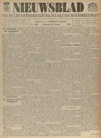 Nieuwsblad het land van Heusden en Altena de Langstraat en de Bommelerwaard 1920-01-28