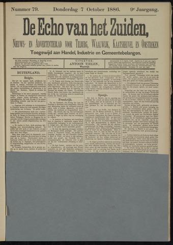 Echo van het Zuiden 1886-10-07