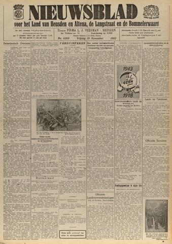 Nieuwsblad het land van Heusden en Altena de Langstraat en de Bommelerwaard 1943-11-19