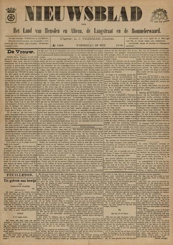 Nieuwsblad het land van Heusden en Altena de Langstraat en de Bommelerwaard 1896-05-20