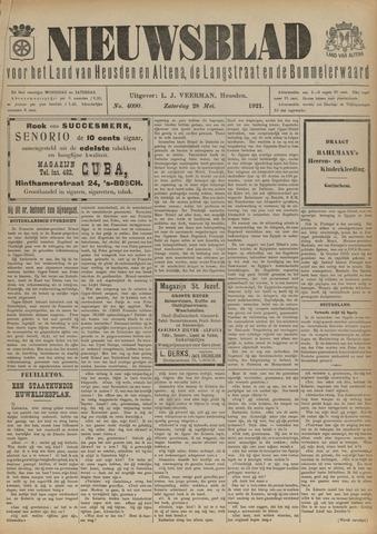 Nieuwsblad het land van Heusden en Altena de Langstraat en de Bommelerwaard 1921-05-28