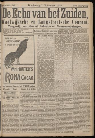 Echo van het Zuiden 1912-11-07