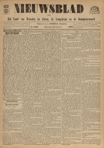 Nieuwsblad het land van Heusden en Altena de Langstraat en de Bommelerwaard 1906-01-13