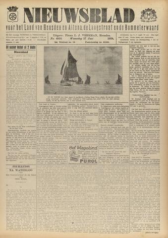 Nieuwsblad het land van Heusden en Altena de Langstraat en de Bommelerwaard 1928-06-27