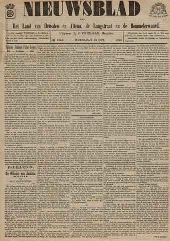 Nieuwsblad het land van Heusden en Altena de Langstraat en de Bommelerwaard 1900-10-10
