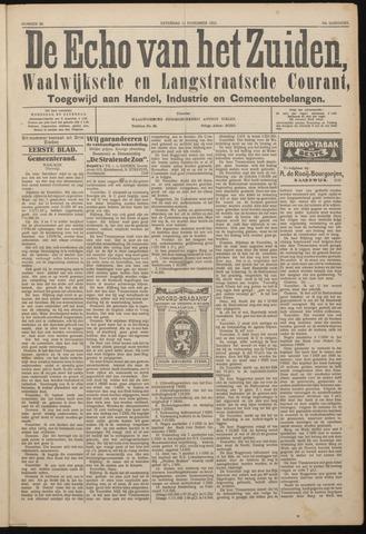 Echo van het Zuiden 1922-11-11