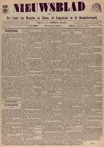 Nieuwsblad het land van Heusden en Altena de Langstraat en de Bommelerwaard 1910-10-05
