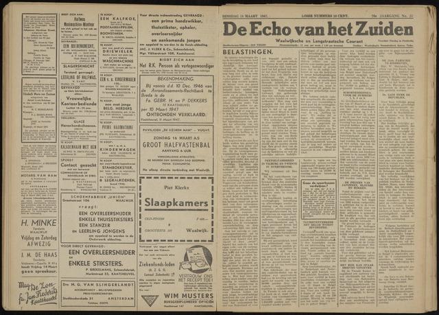 Echo van het Zuiden 1947-03-18