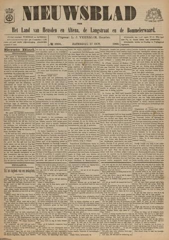 Nieuwsblad het land van Heusden en Altena de Langstraat en de Bommelerwaard 1903-10-17