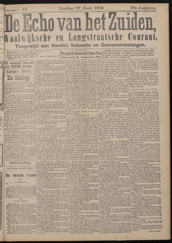 Echo van het Zuiden 1915-06-27
