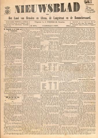 Nieuwsblad het land van Heusden en Altena de Langstraat en de Bommelerwaard 1904-11-09