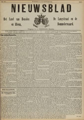 Nieuwsblad het land van Heusden en Altena de Langstraat en de Bommelerwaard 1890-09-24