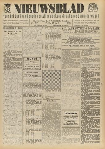 Nieuwsblad het land van Heusden en Altena de Langstraat en de Bommelerwaard 1928-04-27