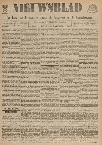 Nieuwsblad het land van Heusden en Altena de Langstraat en de Bommelerwaard 1897-11-06