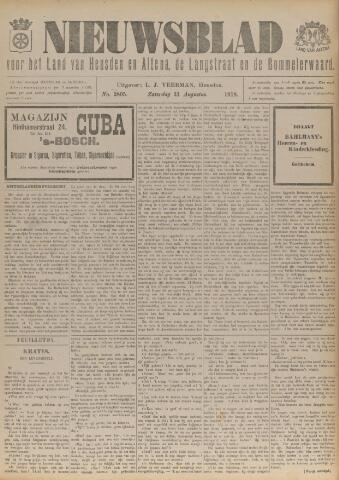 Nieuwsblad het land van Heusden en Altena de Langstraat en de Bommelerwaard 1918-08-31