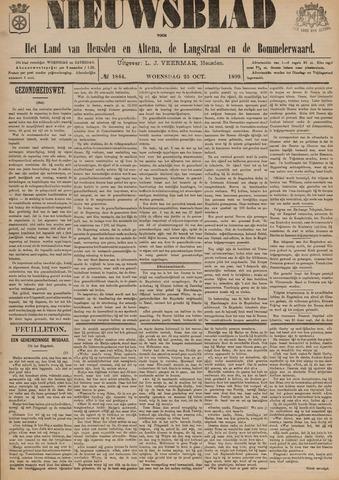 Nieuwsblad het land van Heusden en Altena de Langstraat en de Bommelerwaard 1899-10-25
