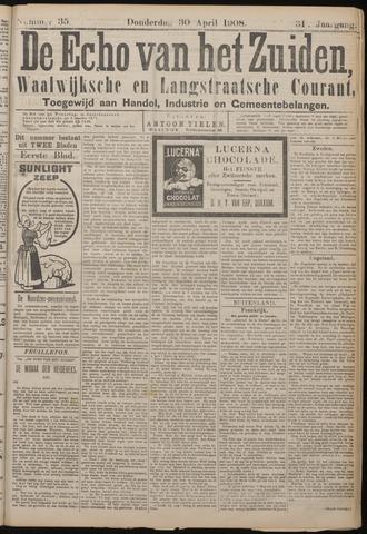 Echo van het Zuiden 1908-04-30