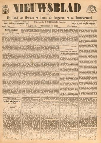 Nieuwsblad het land van Heusden en Altena de Langstraat en de Bommelerwaard 1905-07-12