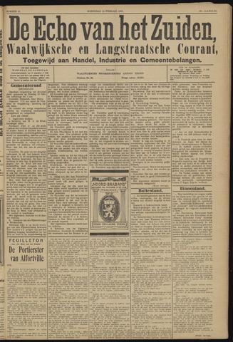 Echo van het Zuiden 1923-02-14
