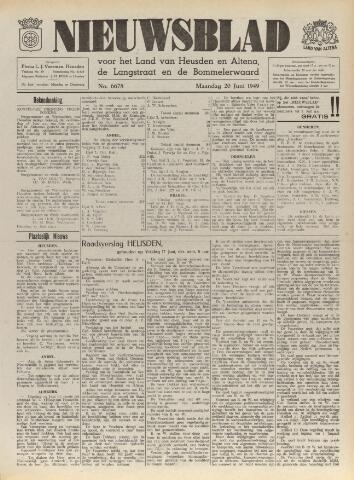 Nieuwsblad het land van Heusden en Altena de Langstraat en de Bommelerwaard 1949-06-20
