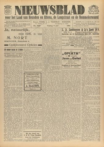 Nieuwsblad het land van Heusden en Altena de Langstraat en de Bommelerwaard 1934-07-06