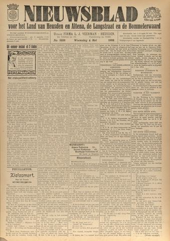 Nieuwsblad het land van Heusden en Altena de Langstraat en de Bommelerwaard 1932-05-04
