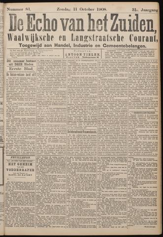 Echo van het Zuiden 1908-10-11