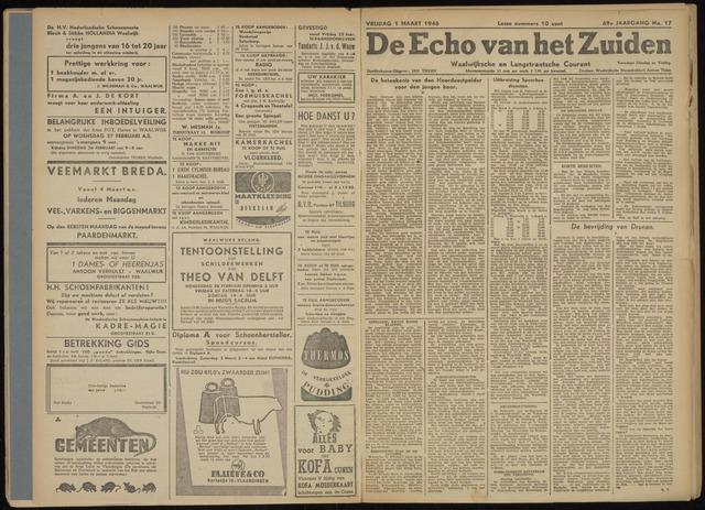 Echo van het Zuiden 1946-03-01