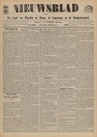 Nieuwsblad het land van Heusden en Altena de Langstraat en de Bommelerwaard 1906-09-19