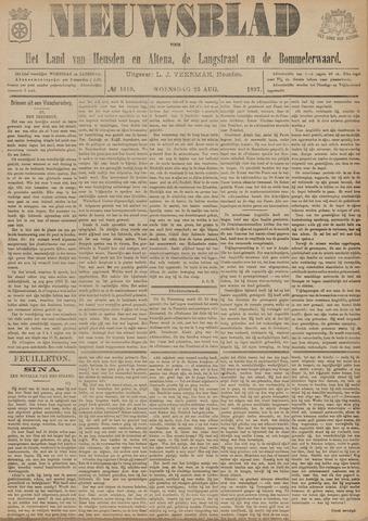 Nieuwsblad het land van Heusden en Altena de Langstraat en de Bommelerwaard 1897-08-25