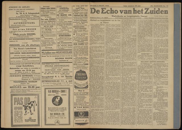 Echo van het Zuiden 1946-03-08