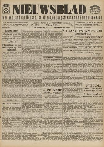 Nieuwsblad het land van Heusden en Altena de Langstraat en de Bommelerwaard 1925-03-06
