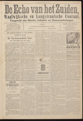Echo van het Zuiden 1938-08-20