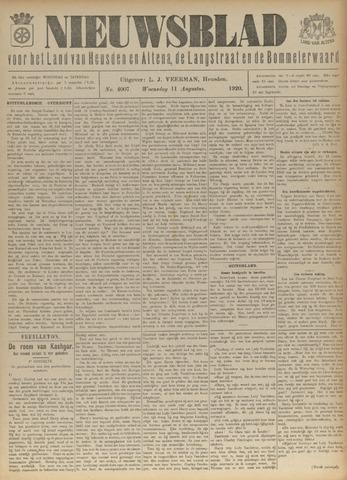 Nieuwsblad het land van Heusden en Altena de Langstraat en de Bommelerwaard 1920-08-11