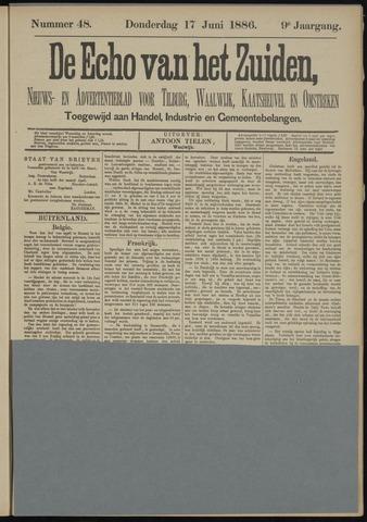 Echo van het Zuiden 1886-06-17