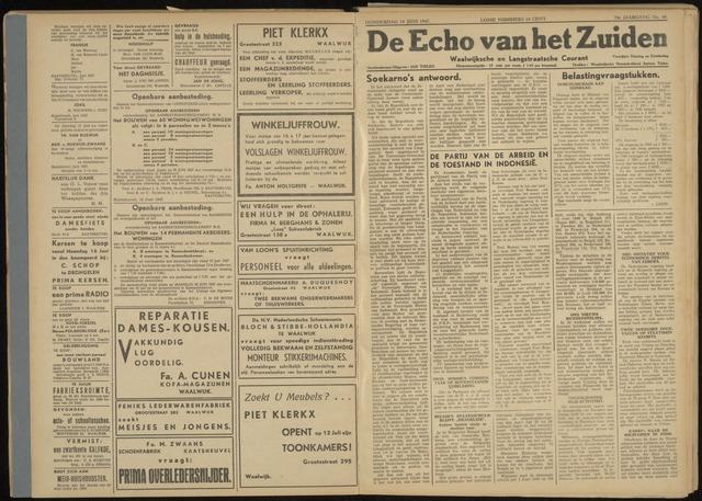 Echo van het Zuiden 1947-06-19