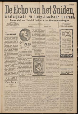 Echo van het Zuiden 1927-12-24