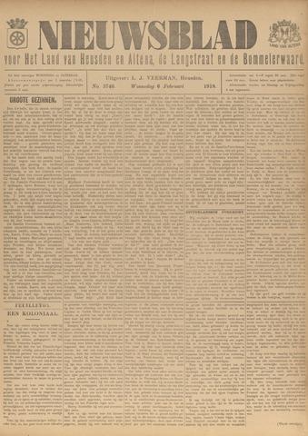 Nieuwsblad het land van Heusden en Altena de Langstraat en de Bommelerwaard 1918-02-06