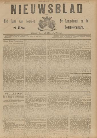 Nieuwsblad het land van Heusden en Altena de Langstraat en de Bommelerwaard 1887-07-27