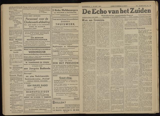 Echo van het Zuiden 1947-03-06