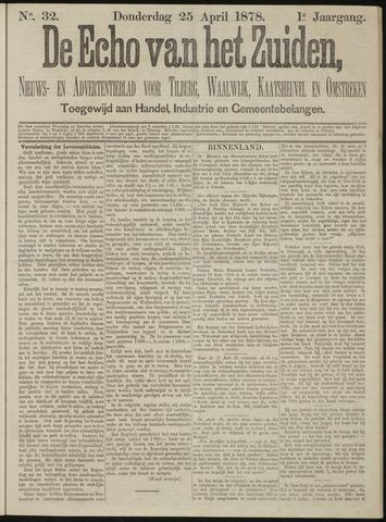 Echo van het Zuiden 1878-04-25
