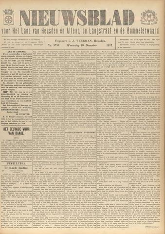 Nieuwsblad het land van Heusden en Altena de Langstraat en de Bommelerwaard 1917-12-19