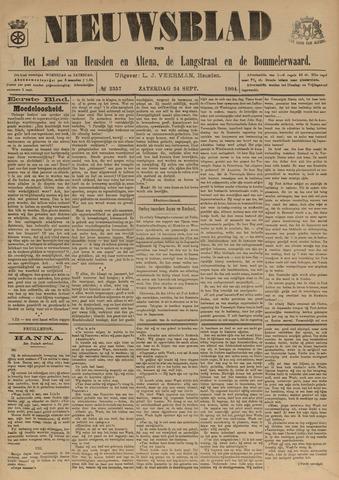 Nieuwsblad het land van Heusden en Altena de Langstraat en de Bommelerwaard 1904-09-24