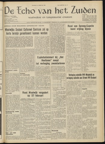 Echo van het Zuiden 1969-02-24